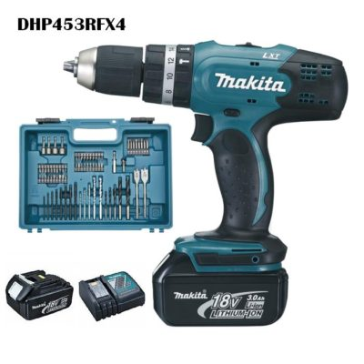 KIT MAKITA DHP453RFX4
