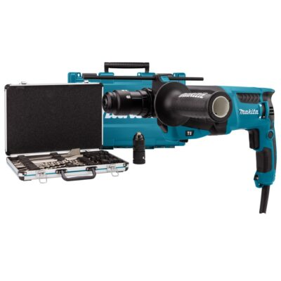 TASSELLATORE MAKITA HR2631FT12 CON SET PUNTE E SCALPELLI