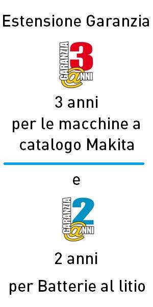 garanzia Makita online