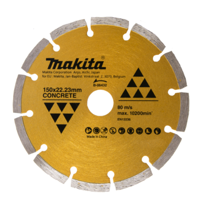 DISCO DIAMANTATO SETTORI MAKITA 150MM B-06432