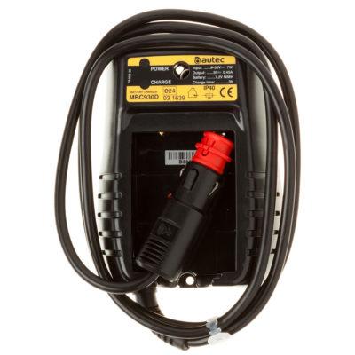 CARICABATTERIE AUTEC 9-30VDC+SPINA ACCENDISIGARI MBC930D R0CABA00E0016