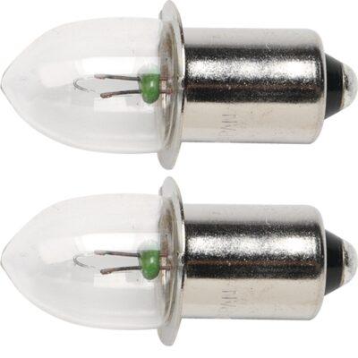 COPPIA LAMPADINE 9,6V MAKITA Cod.192545-3 PER ML901/902/903