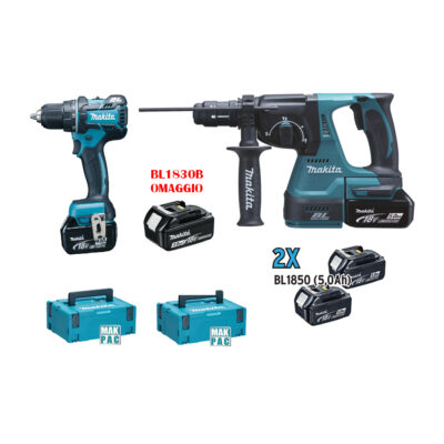 KIT COMBO 8 MAKITA (DHP484+DHR243 5Ah)