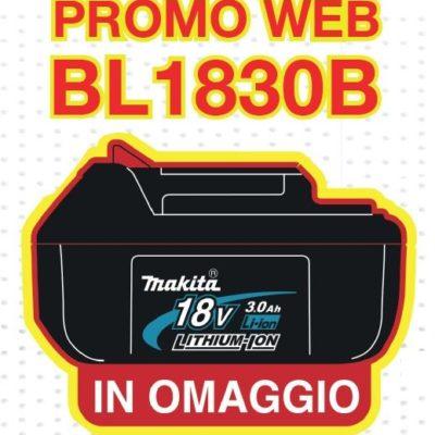 Promozione Makita web BL1830B