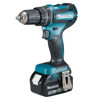 TRAPANO AVVITATORE A PERCUSSIONE BRUSHLESS 18V 50 Nm MAKITA DHP485RTJ